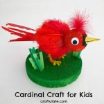 Cardinal Craft for Kids