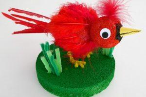 Cardinal Craft for Kids