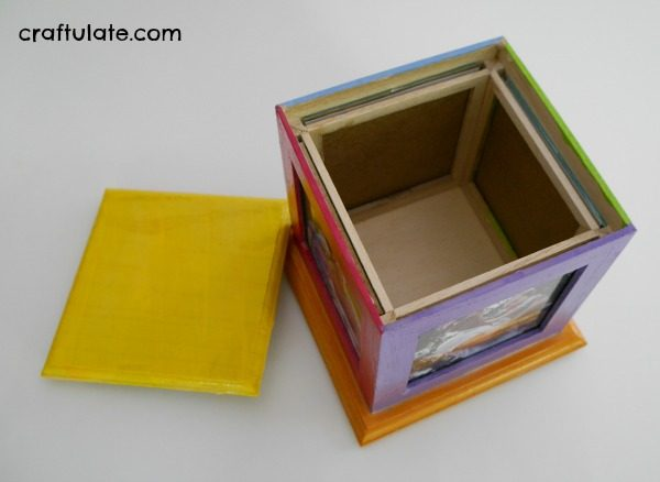 Painted Frame Gift for Kids to Make