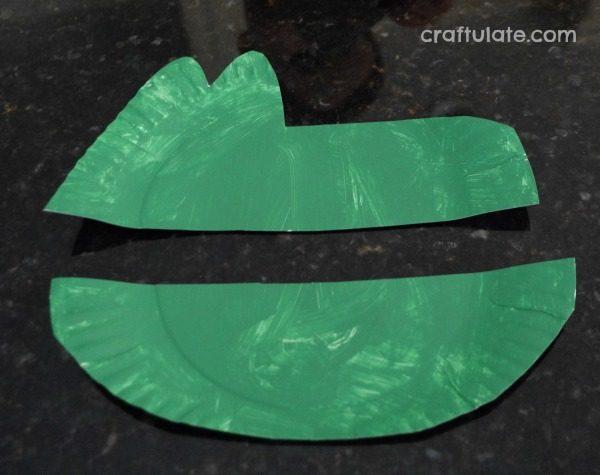 Paper Plate Alligator Craftulate