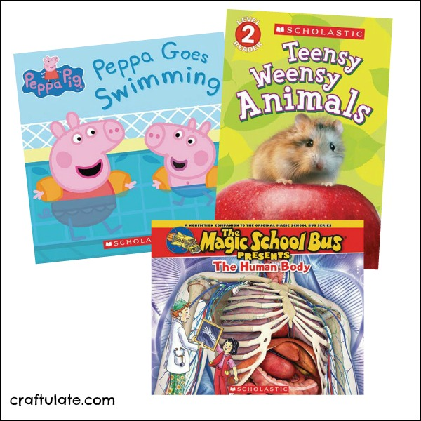 Earn Free Scholastic Books at Walmart!