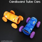 Cardboard Tube Cars