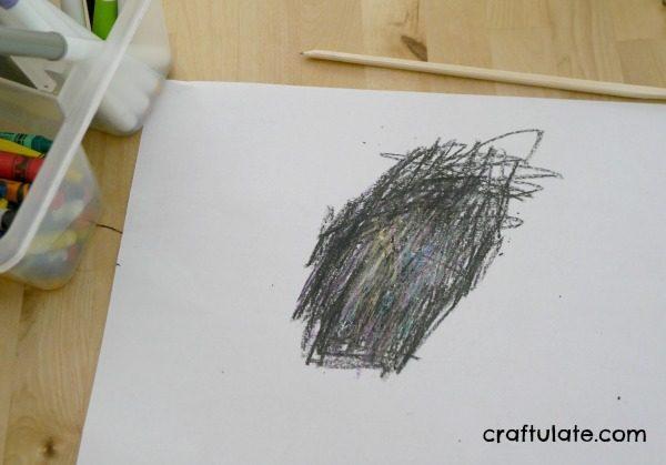 DIY Scratch Art - a fun art technique for kids