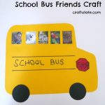 School Bus Friends Craft