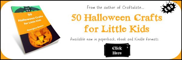 50 Halloween Crafts For Little Kids - the book