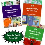50 Alphabet, 50 Animal, 50 Nature Crafts Bundle