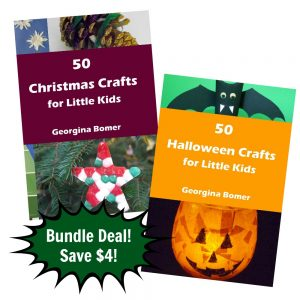 50 Halloween Crafts & 50 Christmas Crafts Deal