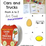 Cars and Trucks From A to Z Art Book