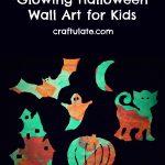Glowing Halloween Wall Art for Kids