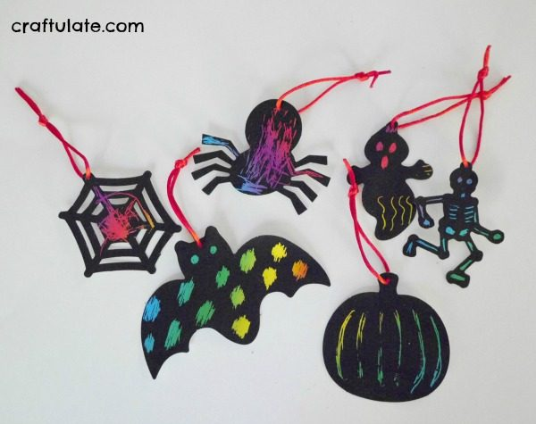 Host a Halloween Crafting Party! Oriental Trading make it so easy!