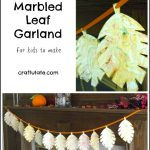 Marbled Leaf Garland