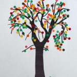 Punched Paper Tree Collage