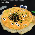 Sweet Halloween Pizza for Kids