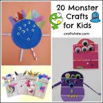 20 Monster Crafts for Kids