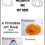 Halloween ABC Art Book