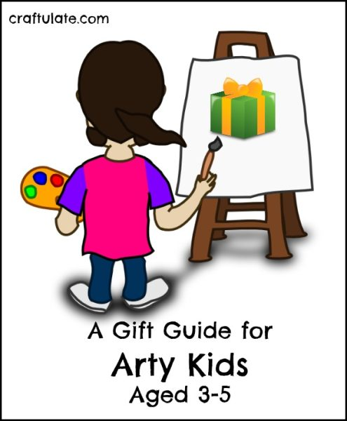 Gift Guide for Arty Kids Aged 3-5 - so much creative inspiration for your little ones!