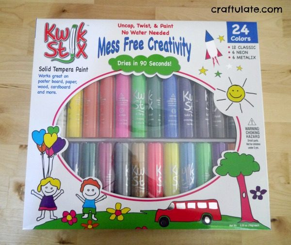 Introducing Kwik Stix - quick drying mess free paint sticks!