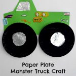 Paper Plate Monster Truck Craft