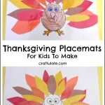 Thanksgiving Placemats For Kids To Make