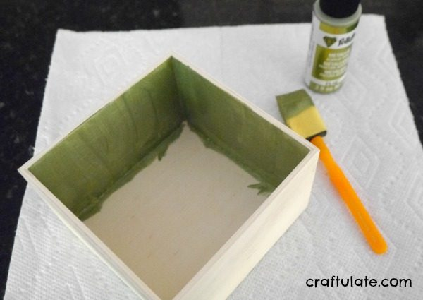 Homemade Tooth Fairy Box - perfect for kids who don't like things too pink!