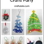 Host a Christmas Crafts Party