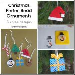 Christmas Perler Bead Ornaments