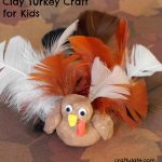 Clay Turkey Craft for Kids