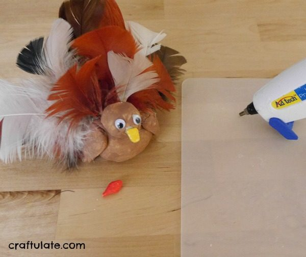 Clay Turkey Craft For Kids Craftulate