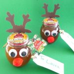 Reindeer Honey Jar Gifts