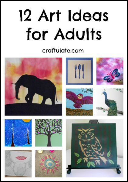 12 Art Ideas For Adults Craftulate