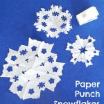 Paper Punch Snowflakes