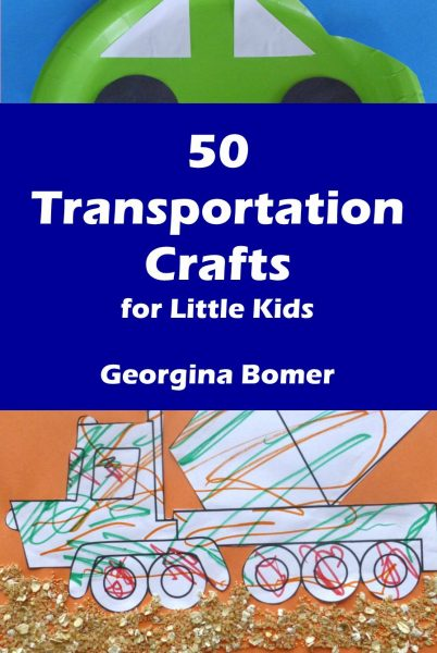 50 Transportation Crafts for little kids - the book!