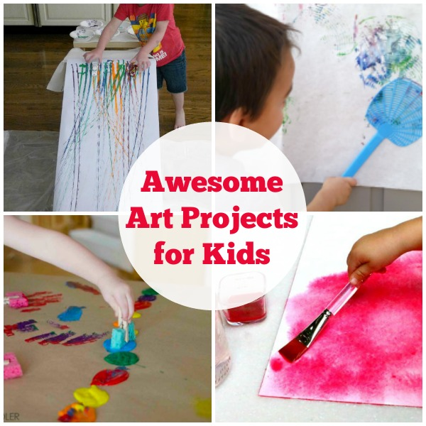 Find Fun Art Projects To Do At: Awesome Art Projects For Kids