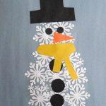Paper Punch Snowman