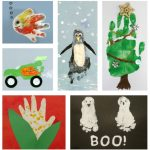 27+ Handprint and Footprint Art Ideas
