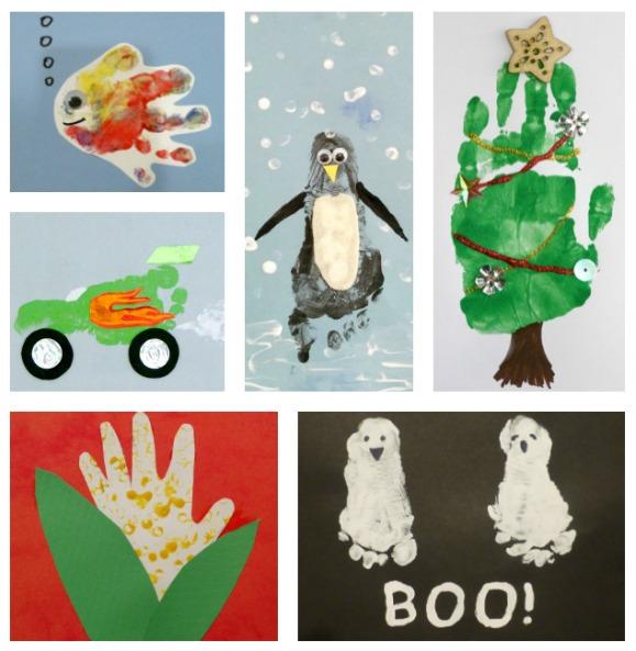 Penguin Christmas Cards Footprint.27 Handprint And Footprint Art Ideas Craftulate