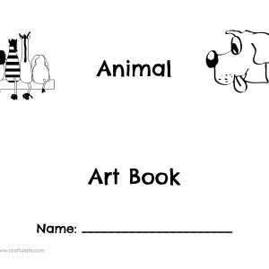 Animal ABC Art Book Craftulate Cover