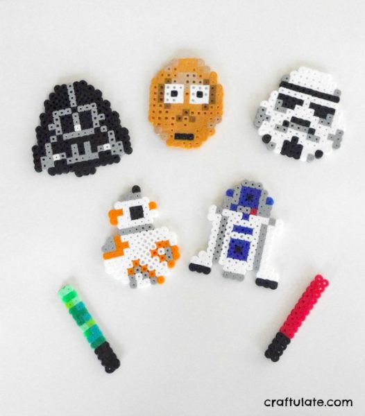 Star Wars Perler Bead Designs - Craftulate