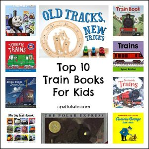 Top Ten Train Books