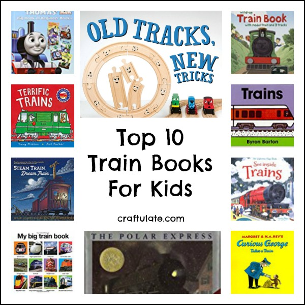 Top 10 Train Books For Kids