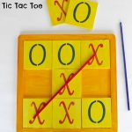 DIY Wooden Tic Tac Toe