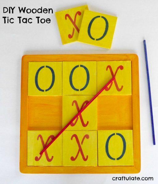 Diy Wooden Tic Tac Toe Craftulate