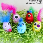 Easter Egg Monster Craft