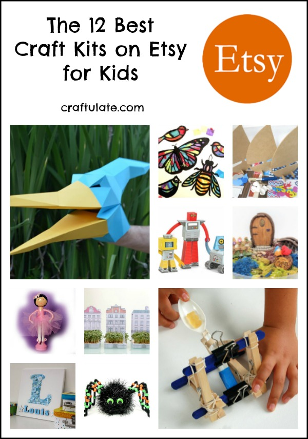 The 12 Best Craft Kits on Etsy for Kids - support independent crafters!