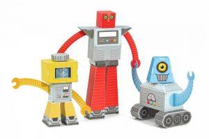 Paper Toy Robots