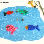 Perler Bead Fishing Game