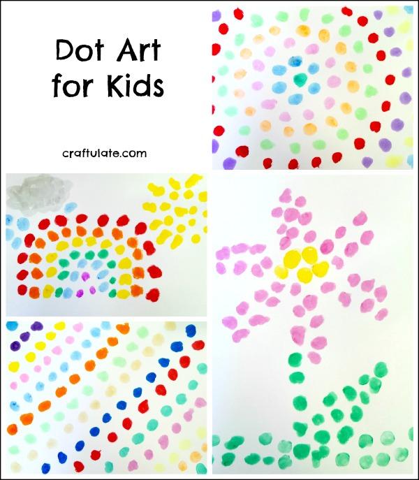 Dot Art for Kids - Craftulate