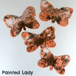 Painted Lady Butterfly Craft