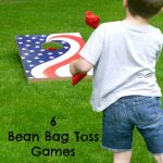 6 Bean Bag Toss Games
