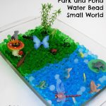 Park and Pond Water Bead Small World
